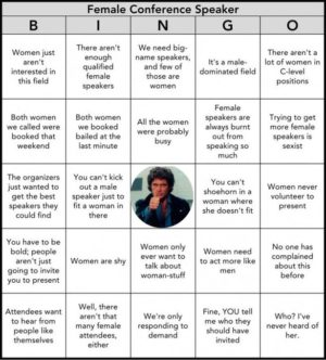 all male panel bingo